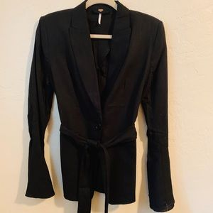 Free people black blazer/coat